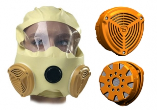 industrial design israel, safety product design, Smoke Escape Mask design